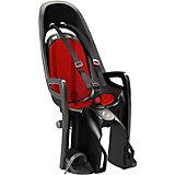 Детское велокресло Caress Zenith W/ Carrier Adapter, Hamax, серый/красный