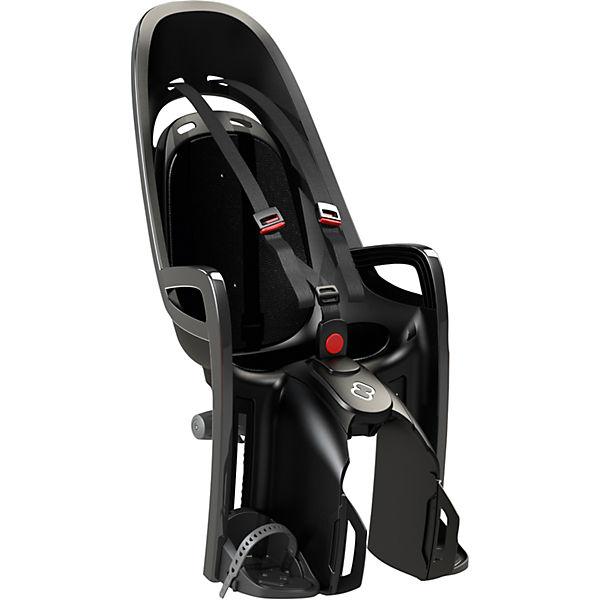 Детское велокресло Caress Zenith W/ Carrier Adapter, Hamax, серый/черный