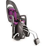 Детское велокресло Caress W/lockable Bracket, Hamax, серый/фиолетовый