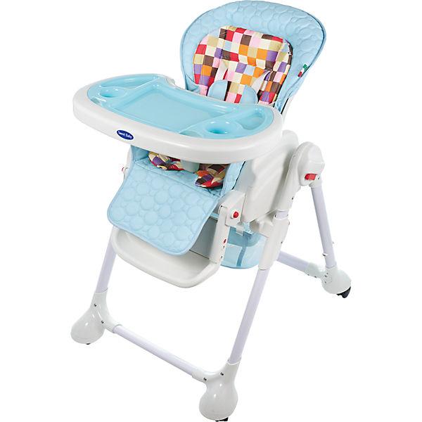 Стульчик для кормления Luxor Multicolor, Sweet Baby, Blu