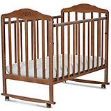 Кроватка Lorenzo Noce, Sweet Baby, орех