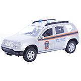 """Машинка """"Renault Duster"""" МЧС 1:38, Autotime"""