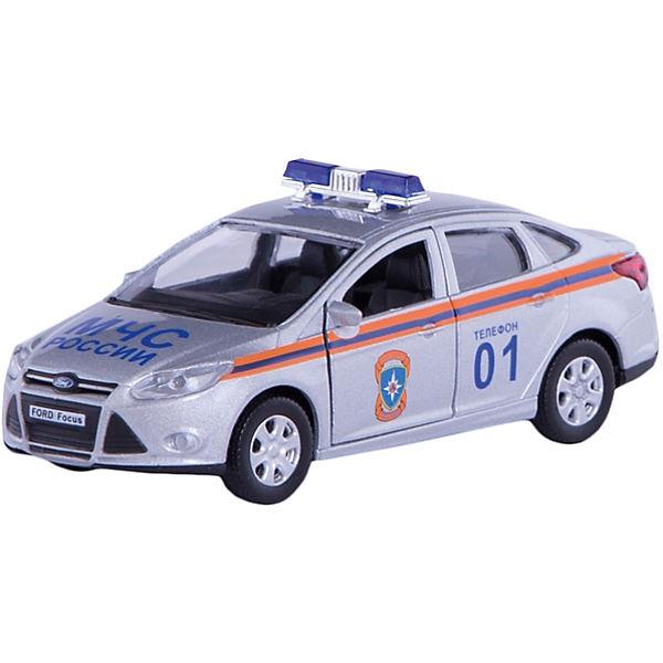 """Машинка """"Ford Focus"""" МЧС 1:36, Autotime"""