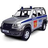 "Машинка ""UAZ Patriot"" полиция 1:43, Autotime"