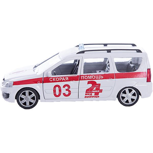 """Машинка """"Lada Largus"""" скорая помощь 1:38, Autotime"""