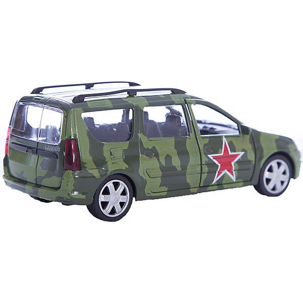 "Машинка ""Lada Largus"" армейская 1:38, Autotime"