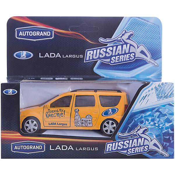 """Машинка """"Lada Largus"""" """"Поехали вместе!"""" 1:38, Autotime"""
