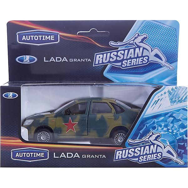 "Машинка ""Lada Granta"" армейская 1:36, Autotime"