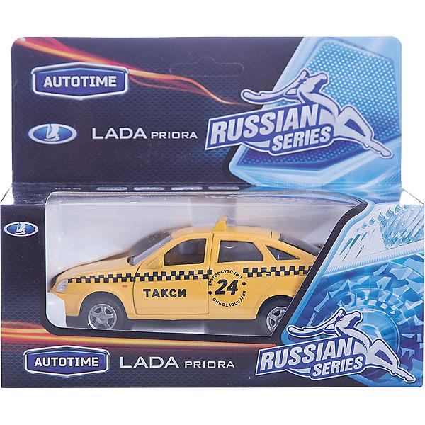 """Машинка """"Lada Priora"""" такси 1:36, Autotime"""