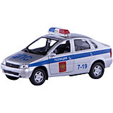 "Машинка ""Lada Kalina"" полиция 1:34, Autotime"