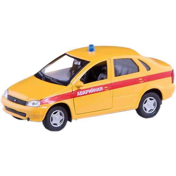 "Машинка ""Lada Kalina"" аварийная 1:34, Autotime"