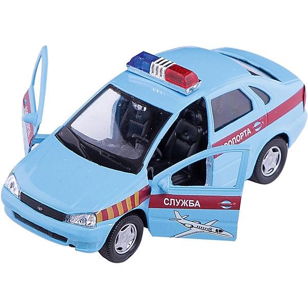 """Машинка """"Lada Kalina"""" служба аэропорта 1:34, Autotime"""