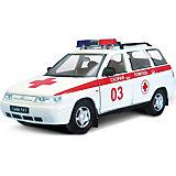 """Машинка """"Lada 111"""" скорая помощь 1:36, Autotime"""