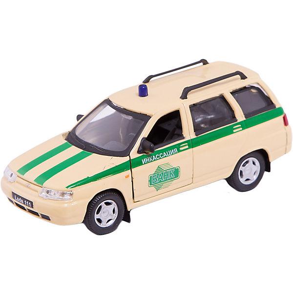 """Машинка """"Lada 111"""" инкассация 1:36, Autotime"""