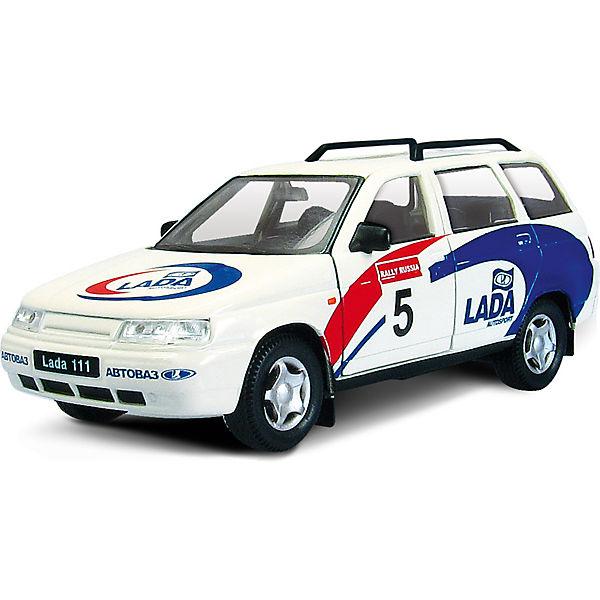 """Машинка """"Lada 111"""" спорт 1:36, Autotime"""