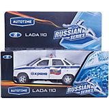 """Машинка """"Lada 110"""" охрана (МВД) 1:36, Autotime"""