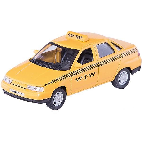 """Машинка """"Lada 110"""" такси 1:36, Autotime"""