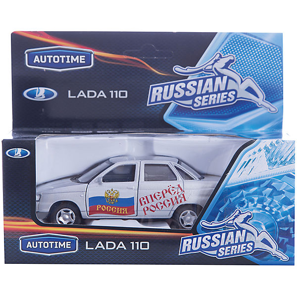 "Машинка ""Lada 110"" Россия 1:36, Autotime"