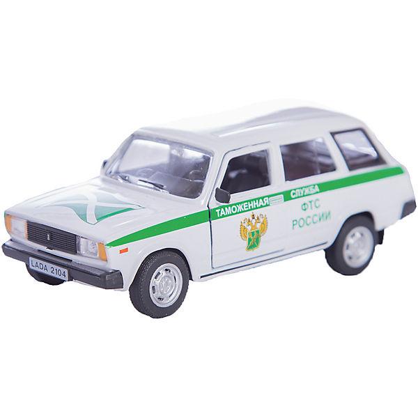 """Машинка """"Lada 2104"""" таможенная служба 1:36, Autotime"""