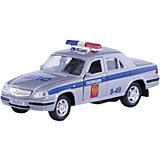 """Машинка """"ГАЗ-31105 """"Волга"""" полиция 1:43, Autotime"""