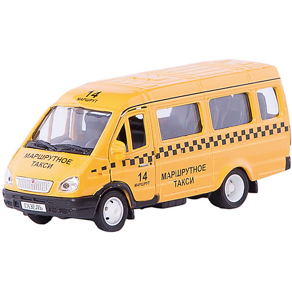 "Машинка ""Газель"" такси 1:43, Autotime"