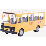 """Машинка """"ПАЗ-32053"""" школьный автобус 1:43, Autotime"""