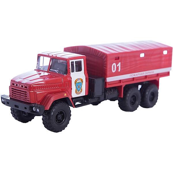 """Машинка """"KRAZ-6322"""" пожарная охрана, Autotime"""