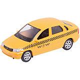 """Машинка """"Lada Kalina"""" такси 1:60, Autotime"""