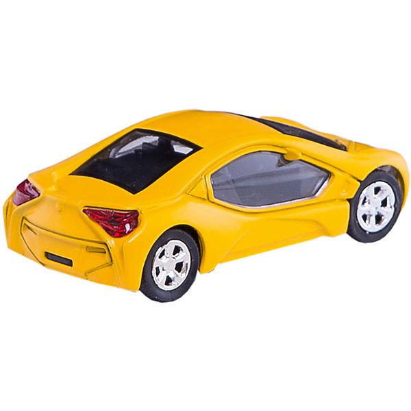"""Машинка """"Bavaria Concept Car"""" со светом фар 1:43, Autotime"""
