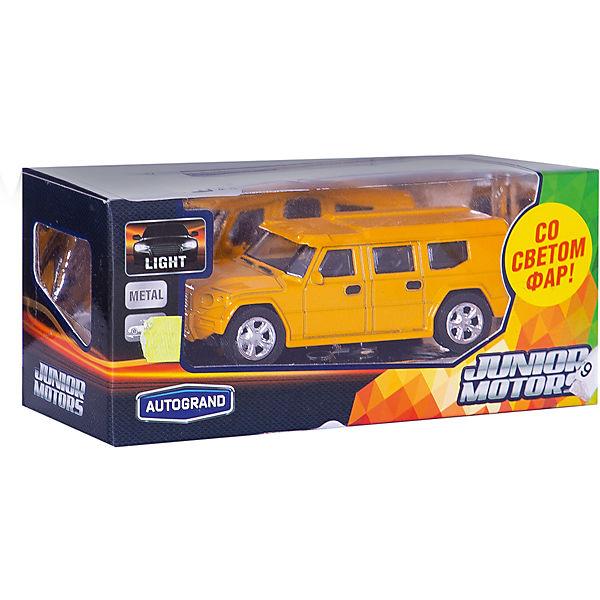 "Машинка ""European Armored Car"" со светом фар 1:43, Autotime"