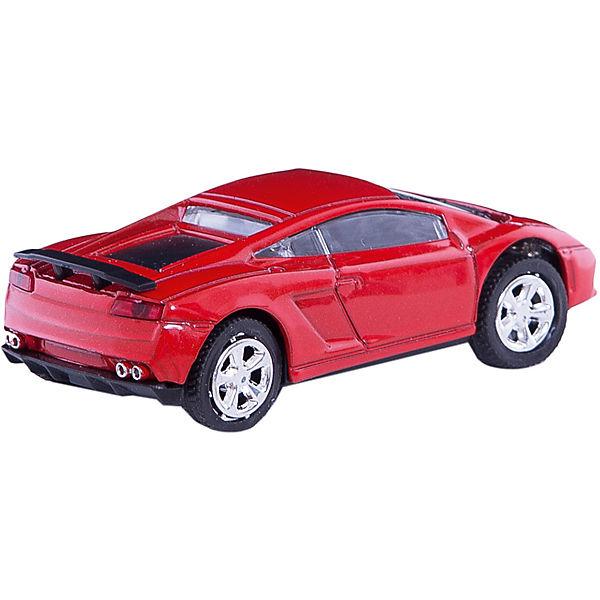 """Машинка """"Italy Extreme Car"""" со светом фар 1:43, Autotime"""