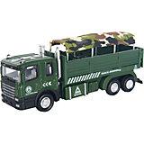 "Машинка ""Military Autotruck"" для перевозки солдат 1:48, Autotime"