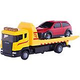 """Машинка """"Scania Tow Truck"""" с Машинкаинкой 1:48, Autotime"""