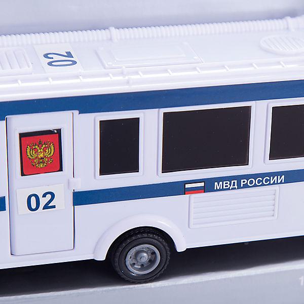 """Машинка """"Scania Command Unit"""" полиция 1:48, Autotime"""