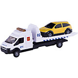 "Машинка ""Recovery Truck"" эвакуатор полиция 1:48, Autotime"
