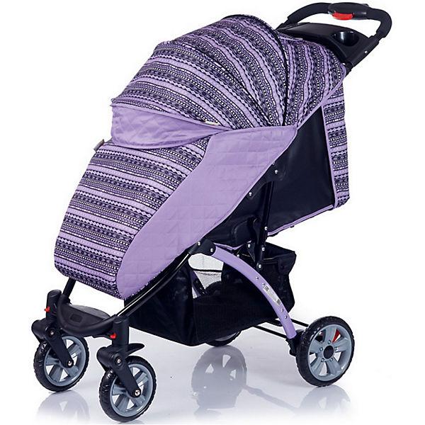 Прогулочная коляска BabyHit Tetra, сиреневый