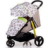 Прогулочная коляска BabyHit Trinity Круги, светло-зеленый