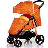 Прогулочная коляска BabyHit Racy Cirles, оранжевый