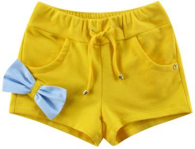 Шорты для девочки Wojcik - желтый