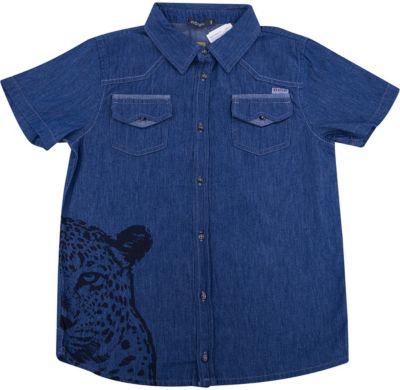 Рубашка для мальчика Wojcik - синий