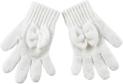 Перчатки для девочки Wojcik - кремовый