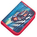Herlitz Пенал с наполнением 31 предмет, Super Racer