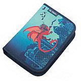 Herlitz Пенал с наполнением 31 предмет, Dragon