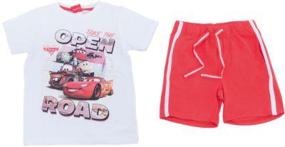 Комплект: футболка и шорты для мальчика PlayToday - разноцветный