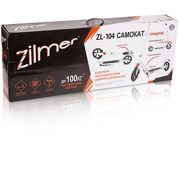 """Самокат  """"ZL-104"""", черный, Zilmer"""