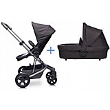 Коляска 2 в 1 Easywalker Harvey Coal Black, black