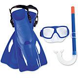 Набор для ныряния SureSwim подростковый, Bestway, синий