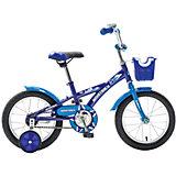 Велосипед Delfi, сине-голубой, 14 дюймов, Novatrack
