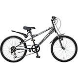 Велосипед EXTREME, тёмно-серый, 20 дюймов, Novatrack