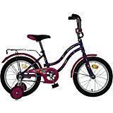 Велосипед TETRIS, фиолетовый, 16 дюймов, Novatrack